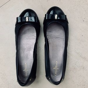 Cole Hann black ballet flats